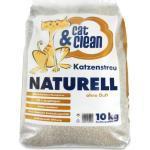 Cat & Clean® Katzenstreu Naturell ohne Duft 10 kg (0,90 € pro Kg)