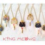 """""""Cat King"""" Halskette Inspiriert Von Sailor Moon-Choose Ihre Eigene"""