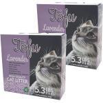 Cat Litter Company Katzenstreu »Öko Katzenstreu natürlich Bio klumpend leicht Lavendel Tofu Klumpstreu 2 x 2,4kg«