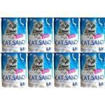 CAT SAND / CALITTI Silikon Katzenstreu 8x3,8l (11,6kg) (Rabatt für Stammkunden 3%)