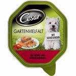 Cesar Gartenvielfalt mit Rind&Gemüseauswahl | 14x 150g Hundefutter