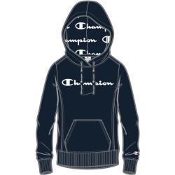 Champion Kapuzenpullover (Hoodie) American Classic Logo 2021 navy Damen