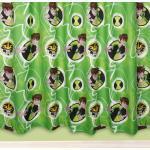 Character World Cartoon Network Ben 10 Alien Force 2St. Fertig Gardinen/Vorhänge Set je L 183 cm x B 168 cm NEU Blickdicht