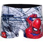 Characters Cartoons Spiderman Marvel Avengers – Badehose für Kinder, Boxershorts, Brief und Schwimmbad, offizielles Lizenzprodukt, Schwarz 4 Jahre