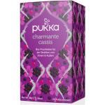 Charmante Cassis Tee, bio - 20 Teebeutel à 1,9 g (38 g) - Pukka Tee