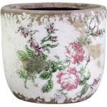 Chic Antique Toulouse Übertopf mit Rosen, H10/D11 cm, muster