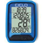 Ciclosport Fahrradcomputer » Protos 213 Funk Fahrradcomputer Fahrradtacho 4 Zeilen Display«, blau, blau