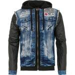 Cipo & Baxx Jeansjacke im trendigen 2in1-Design