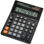 Citizen Tischrechner SDC-444S Solar-/Batterie LCD-Display schwarz 1-zeilig 12-stellig