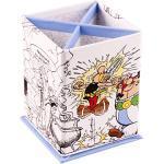 """Clairefontaine 812873C – Ein rechteckiger Stifteköcher """"Asterix Potion Magic"""", 4 Fächer, 8 x 8 x 11,5 cm"""