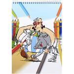 Clairefontaine 812917C – Ein Malblock mit Spiralbindung, Asterix Les Gaulois, 66 Seiten, 21 x 29,7 cm, laminierter Umschlag