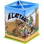 """Clairefontaine 812919C – Ein rechteckiger Stifteköcher""""Asterix Les Gaulois"""", 8 x 8 x 11,5 cm"""