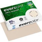 Clairefontaine Recyclingpapier Evercolor chamois DIN A4 80 g/qm 500 Blatt