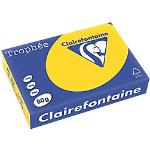 Clairefontaine Tropheé Farbiges Kopier-/ Druckerpapier DIN A4 80 g/m² Goldgelb 500 Blatt