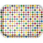 Classic Tray Medium Tablett Vitra Diamonds multicolor