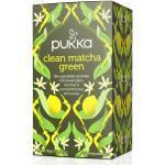 Clean Matcha Green Tee, bio - 20 Teebeutel à 1,5 g (30 g) - Pukka Tee