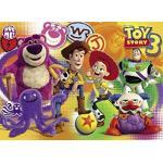 Clementoni 20031.3 - Puzzle Magic 3D - 104 teilig Toy Story 3 - One Story, Two Sides