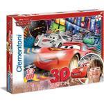 Clementoni 20044.3 - Puzzle Magic 3D - 104 teilig Cars 2 - The Fastest Crew