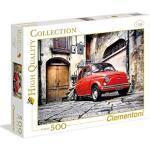 Clementoni 30575.9 - Puzzle Kollektion FIAT 500, 500 Teile