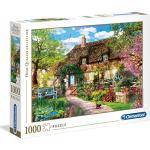 """Clementoni 39520""""Das alte Cottage-1000 Teile Puzzle Collection"""