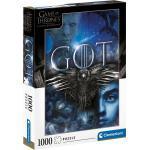 Clementoni® Puzzle »Game of Thrones - The Iron Anniversary«, 1000 Puzzleteile, Made in Europe, FSC® - schützt Wald - weltweit