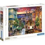 Clementoni® Puzzle »High Quality Collection - San Francisco«, 3000 Puzzleteile, Made in Europe, bunt