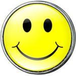 Click-Button Standard (18mm) Limited Edition, Smiley ...by Kult-Schmuck