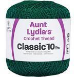 Coats Crochet Classic Häkelgarn, 10, Waldgrün
