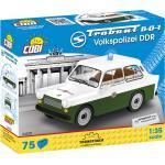 Cobi 24520 Trabant 601 Volkspolizei Ddr Klemmbausteine-Set, Mehrfarbig
