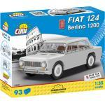 COBI 24521 FIAT 124 BERLINA 1200 Klemmbausteine-Set, Mehrfarbig