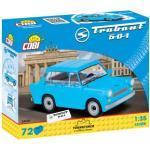 COBI 24539 Trabant 601 Teile: 72