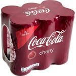 Coca Cola Cherry 1 Pack á 6 x 0,25l eingeschweißt (6 Dosen Cherry Coke)
