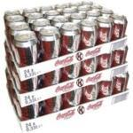 Coca Cola 'Light' 72 x 0,33l Dose XXL-Paket (Coke Light)