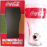 Coca-Cola - Weltmeister Glas - Brasilien - zur WM 2014