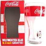 Coca-Cola - Weltmeister Glas - England - zur WM 2014