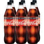 Coca Cola Zero 1l PET im 6er Set