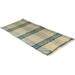 Cocoon - TravelSheet Cotton Flanell - Reiseschlafsack Gr 220 x 90 cm Grau/Beige