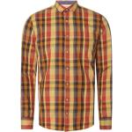 Gelbe Colours & Sons Herrenhemden