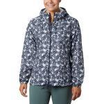 Columbia Flash Forward Printed Windbreaker Blau, Damen Softshelljacken, Größe XL - Farbe Nocturnal Polkadot Floral