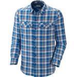 Columbia Herren Wanderhemd Langarm Silver Ridge Long Sleeve Shirt, Windswept Medium Ripstop Plaid, XXL, AM7441