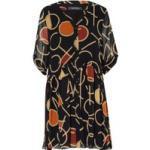Comma Kleid Mit 3/4-Arm schwarz