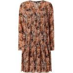comma Kleid mit Allover-Muster