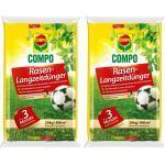 COMPO Rasen-Langzeitdünger 2 x 20kg Vorteilspackung für 1600m²