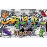 Grüne Consalnet Graffiti-Fototapeten