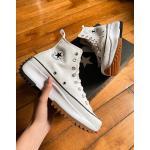 Converse – Run Star Hike – Weiße Unisex-Sneaker