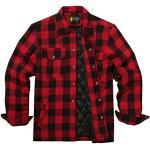 Rote Herrenhemden für den Winter