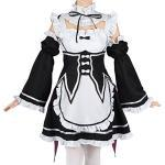 CoolChange Re:Zero Kara Hajimeru Isekai Seikatsu Maid Kostüm von Ram & Rem, Größe: S