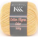 Cotton Filigran Color von KKK, Gelb-Color