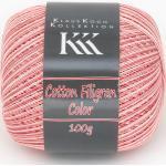 Cotton Filigran Color von KKK, Lachs-Color