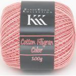 Cotton Filigran Color von KKK, Lachs-Color